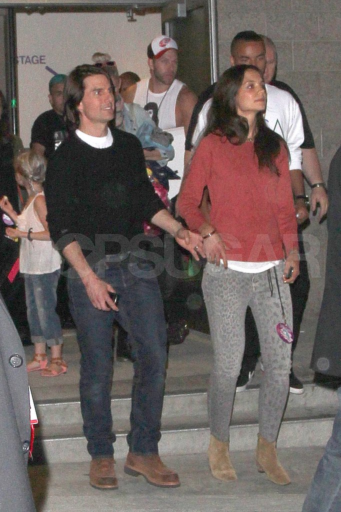 Tom Cruise and Katie Holmes see Katy Perry.