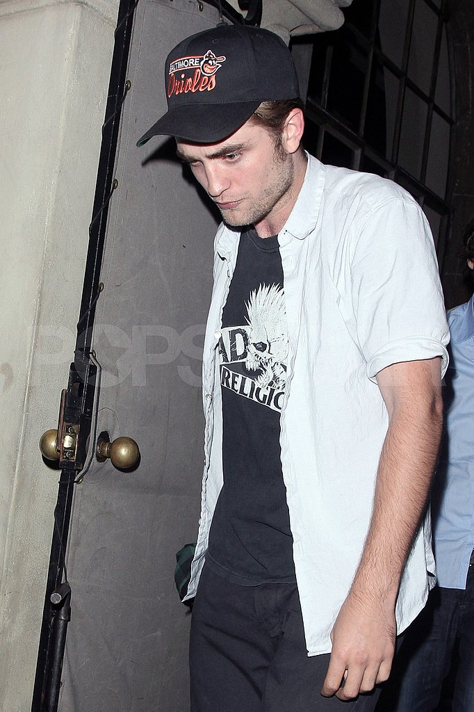 Robert Pattinson at the Chateau Marmont.