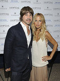 Rachel Zoe and husband Rodger Berman at her Hamptons magazine party.