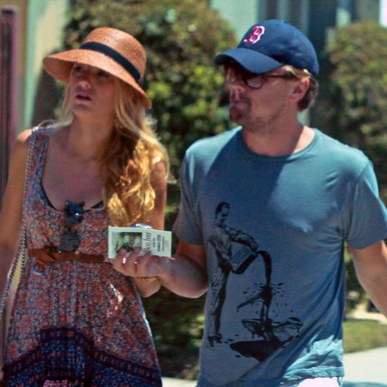 Blake Lively and Leonardo DiCaprio hanging out in LA.