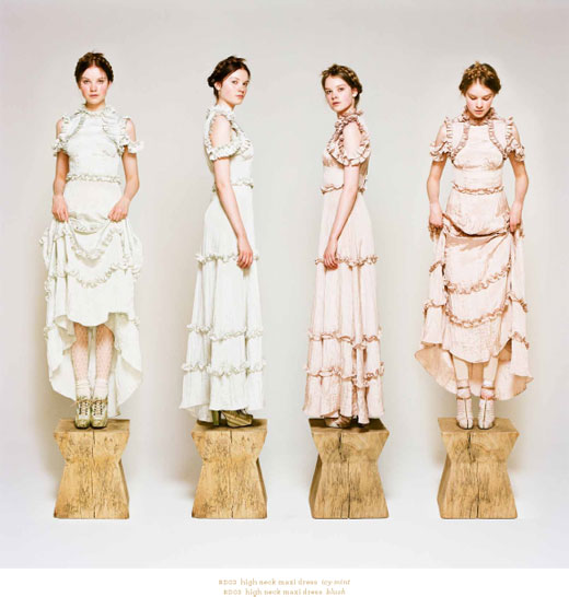 Rodarte Opening Ceremony Fall 2011 Collection Lookbook