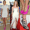 Jayma Mays Dresses on Glee Red Carpet