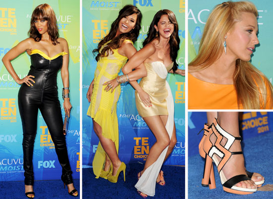 See all the Teen Choice Awards Pics You May Have Missed