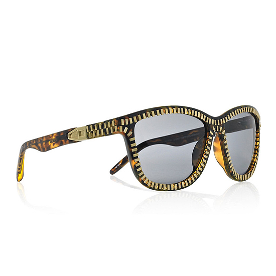 Alexander Wang Zip-Detail Sunglasses, $390