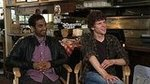 Aziz Ansari and Jesse Eisenberg Talk 30 Minutes or Less and Robbing a Bank Together