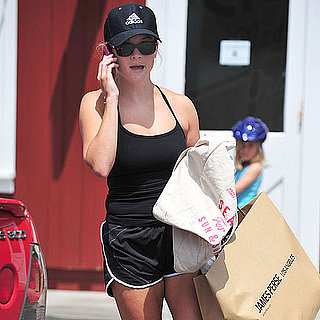 Reese Witherspoon Visits James Perse in LA Pictures