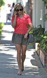 Reese Witherspoon runs errands.