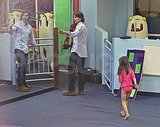 Tom Cruise takes Suri Cruise to class.