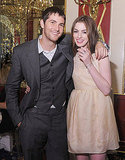 Anne Hathaway and Jim Sturgess hang out at the One Day after party.