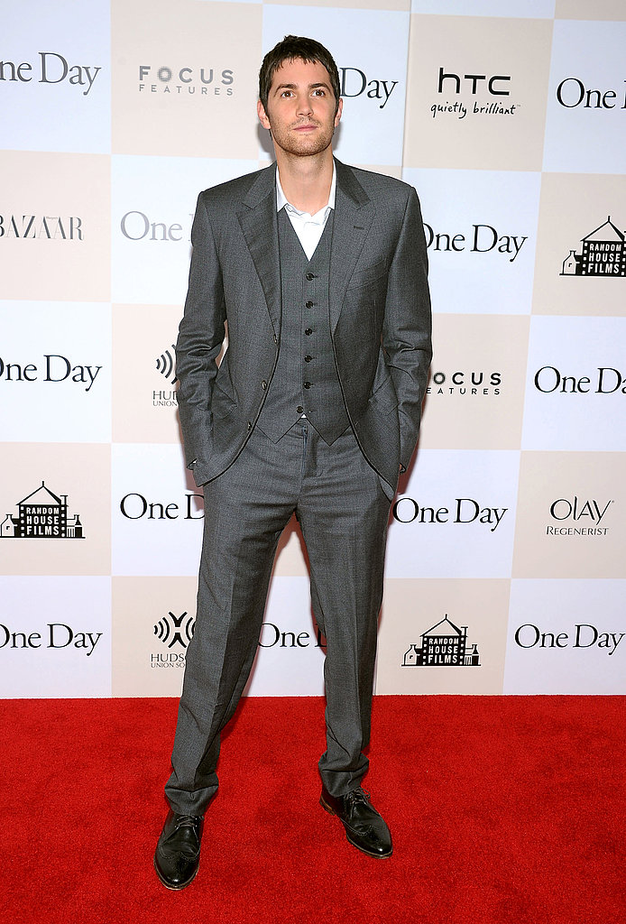 Jim Sturgess premiere One Day in NYC.