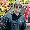 Robert Pattinson in a Sweatshirt Food Shopping in LA Pictures