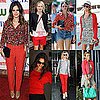 Celebrities in Red