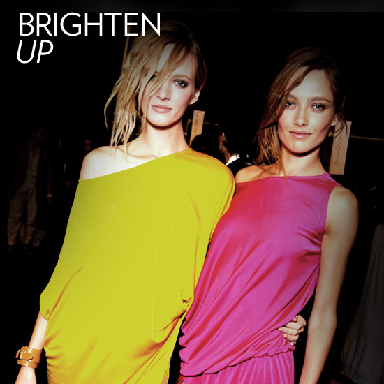 Wear Your Summer Brights Out at Night