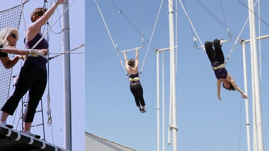 "How I Became a ""Swinger"" on the Flying Trapeze"