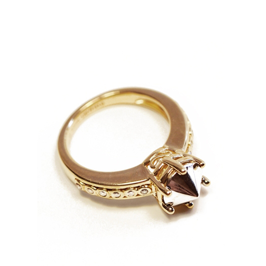 Anna Sheffield Eleonor Gold Ring, $1,200