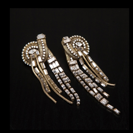 Erickson Beamon Bette Davis Eyes Earrings, $464