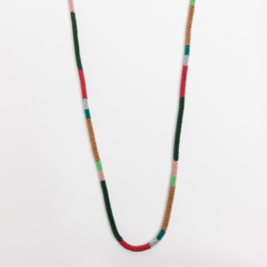 Bluma Project Joyous Stripe Rope Necklace, $133