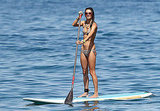 Alessandra Ambrosio in the water.