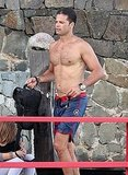 David Charvet shirtless.