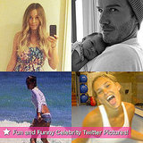 David Beckham, Bar Refaeli, Lauren Conrad, and More in This Week's Fun and Funny Celebrity Twitter Pictures!
