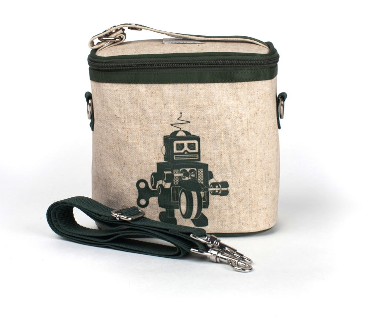 So Young Green Robot Cooler Bag ($27)