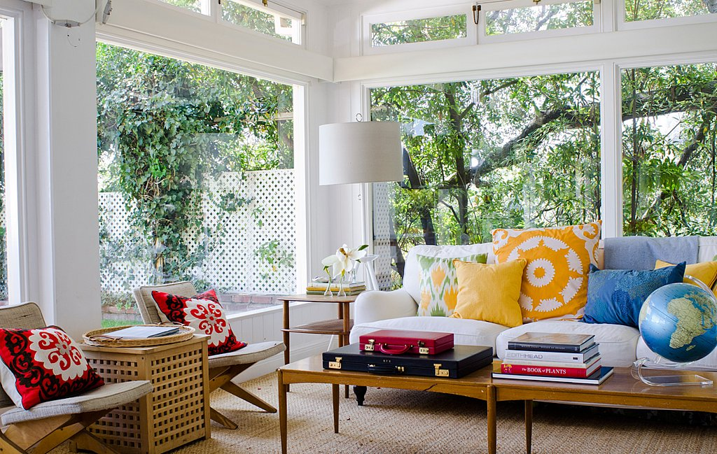 Get the Look: Minnie Mortimer's Marvelous Sunroom