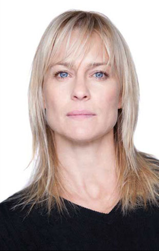 Robin Wright as Erika Berger