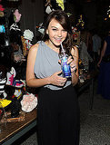 Aimee Teegarden at an Alice + Olivia party.
