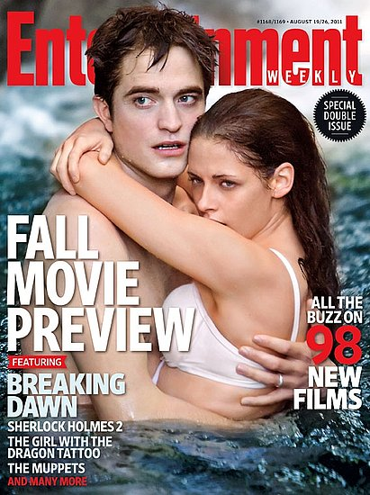 Robert Pattinson and Kristen Stewart on Twilight Sex in EW Previous Next