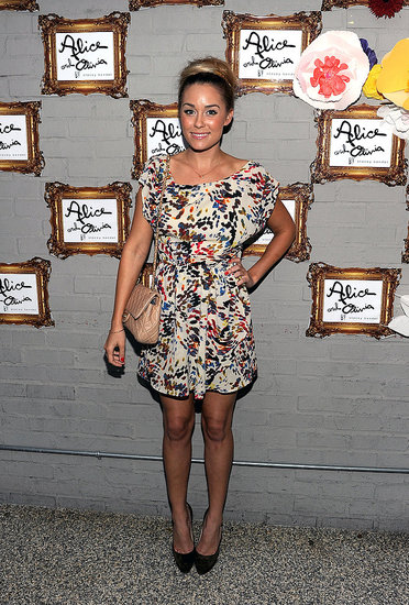 Lauren Conrad wears Alice + Olivia.