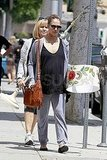 Pregnant Jessica Alba shopping in LA.