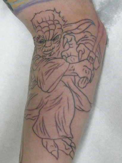 Yoda in action. Source: Flickr User micael tattoo