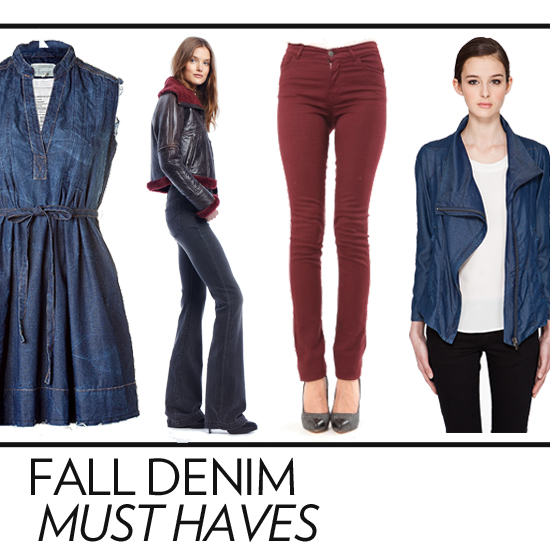Editors' Picks: Our Denim Must Haves