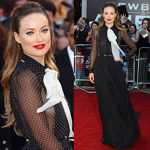 Olivia Wilde Cowboys and Aliens UK Premiere