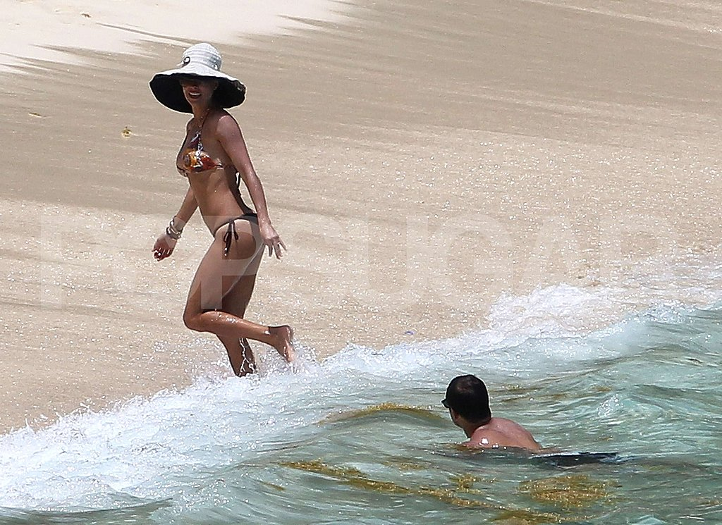Brooke Burke and David Charvet had a wedding in St Barts.
