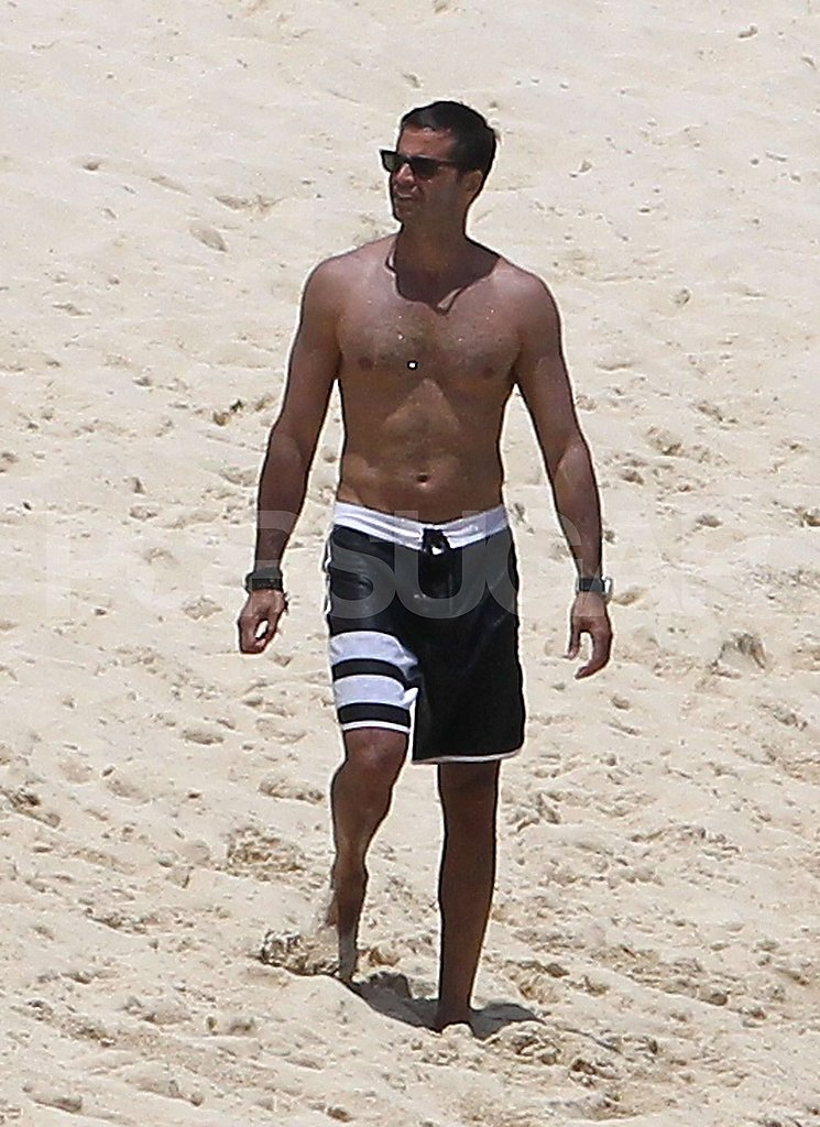 David Charvet has a six pack.