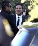 Mario Lopez at Kim Kardashian's Montecito wedding.