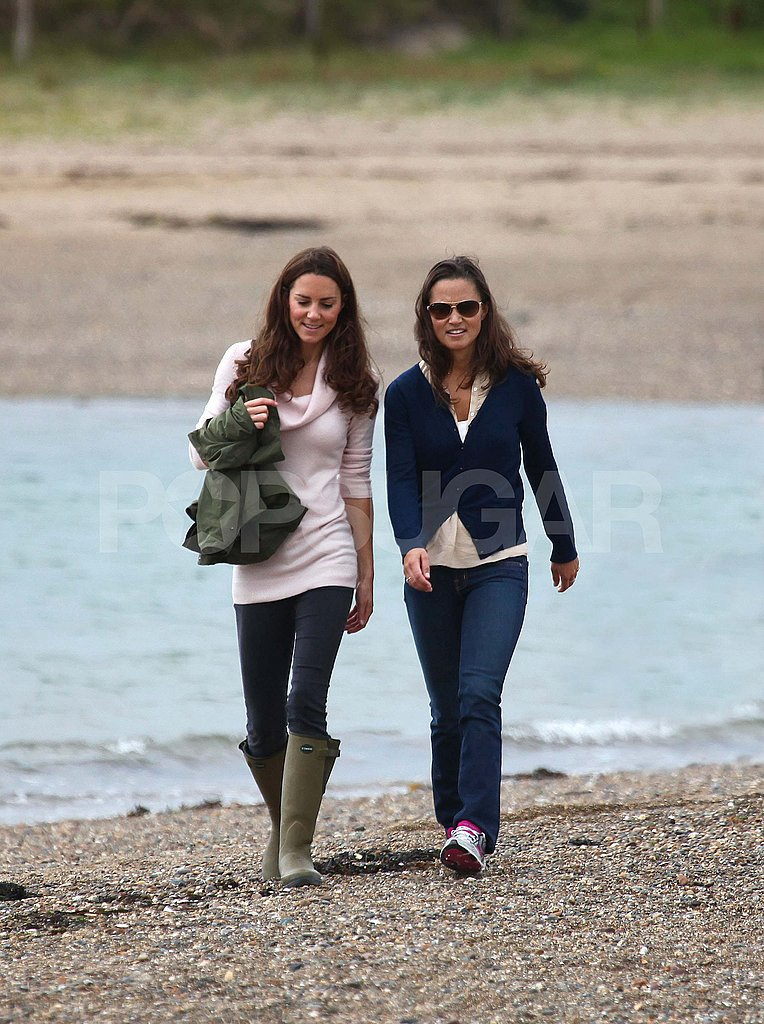 Kate Middleton and her sister.