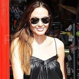 Angelina Jolie leaving London's Toy Station.