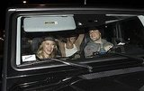Haylie Duff accompanied her sister, Hilary, and Mike Comrie to dinner.