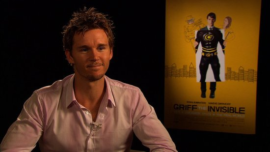 Ryan Kwanten Tells Us Why He Relates to the Shy Superhero He Plays in Griff the Invisible