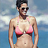Video of Halle Berry in a Bikini With Boyfriend Olivier Martinez and Daughter Nahla