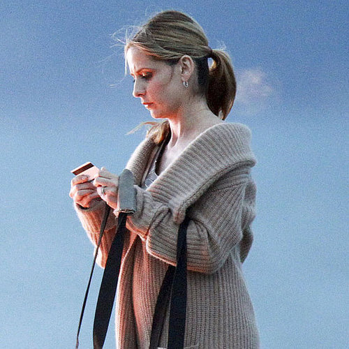 Sarah Michelle Gellar on the Ringer Set in Malibu Pictures