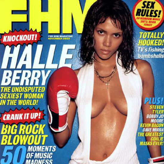 Reason 5: If we had you guess when this photo was taken, you wouldn't bat an eyelash if we told you it was from 2010. Alas, this FHM cover is from 2003, and she doesn't look like she's changed a bit.
