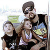 Joel Madden Tour Pictures With Harlow Madden and Sparrow Madden 2011-08-16 07:32:21