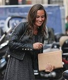 Pippa Middleton gets out her car keys.
