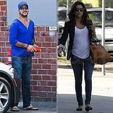 Eva Longoria Gets Down to Housewives Business as Her Boyfriend Eduardo Hits the Studio