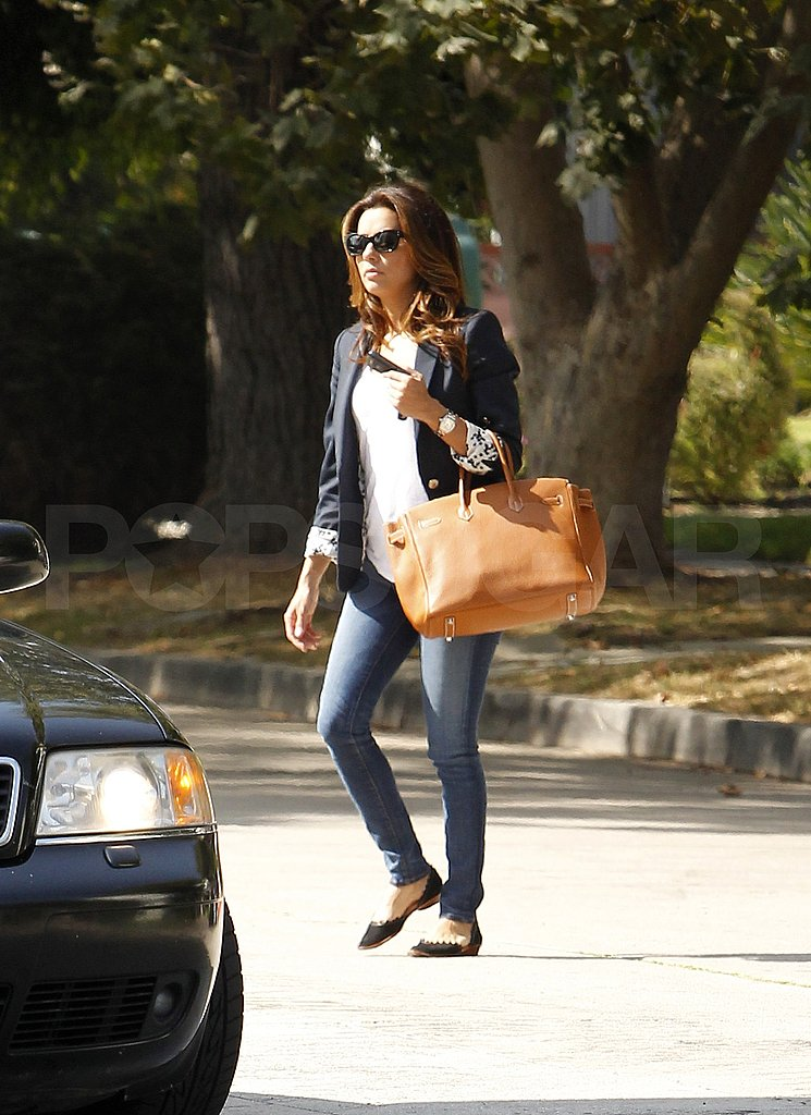 Eva Longoria heads work for Desperate Housewives.