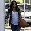 Eva Longoria Pictures in LA as Eduardo Cruz Visits a Studio