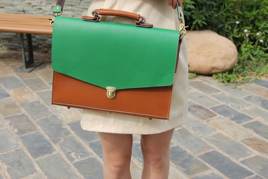 Handcrafted Leather Briefcase ($158)